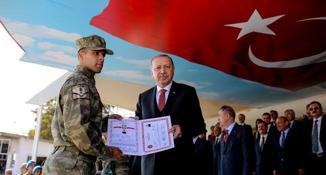 Erdoğan vows to root out terror nests east of the Euphrates