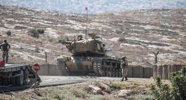 Turkish army hits east of Euphrates in Syria