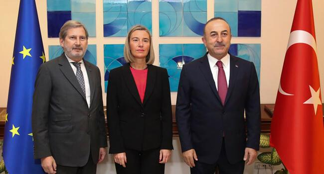 Turkey-EU hold 'constructive' political dialogue meeting