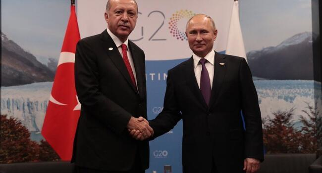 Erdoğan calls for new summit on Syrias Idlib at G20 meeting with Putin