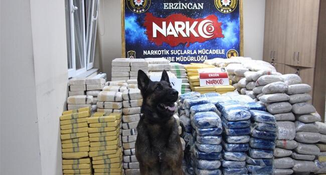 Police dog to be awarded for Turkeys biggest heroin bust
