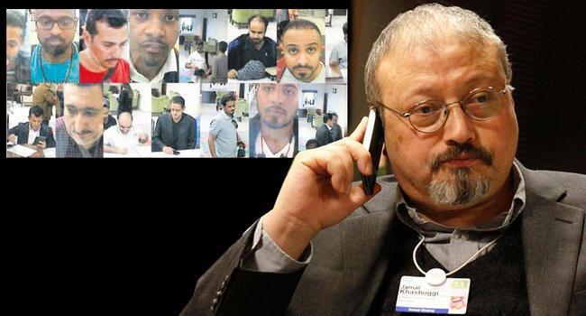 Suspects in Khashoggi's killing brought before Saudi court