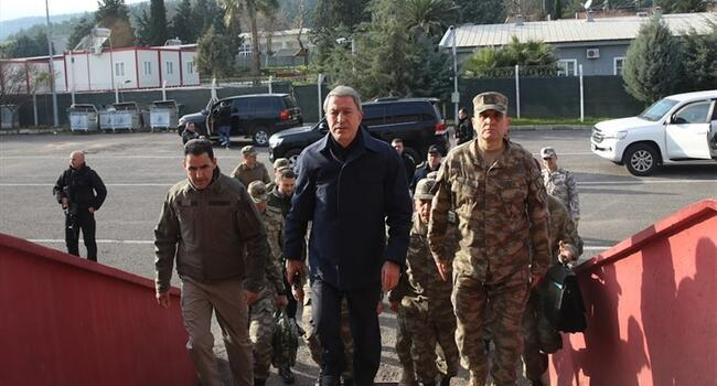 Turkish army, intelligence chiefs meet at south border