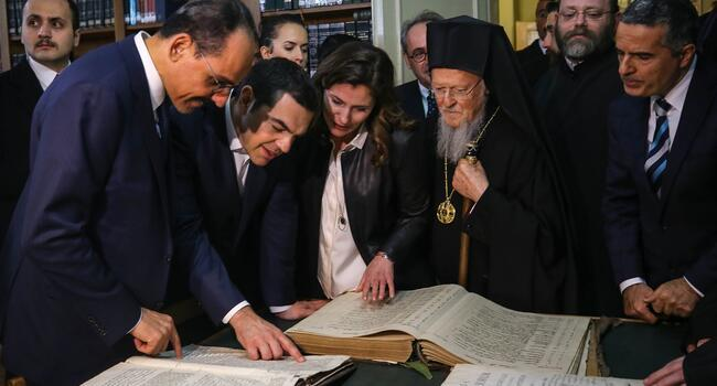 Greek premier pays historic visit to former Istanbul seminary