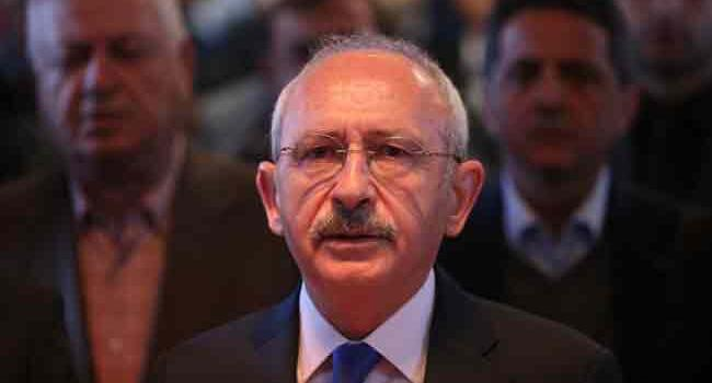 Turkish prosecutor files summary of proceedings against CHP leader