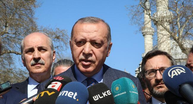 Erdoğan points to high election board for results