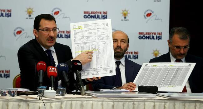 AKP to file criminal complaint against Istanbul poll result