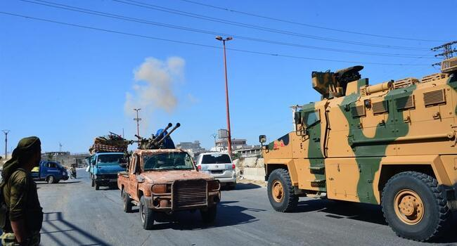 Turkey 'strongly' condemns strike on its military convoy in Syria