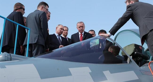 Ankara, Moscow to hold talks over Su-57 fighter jets