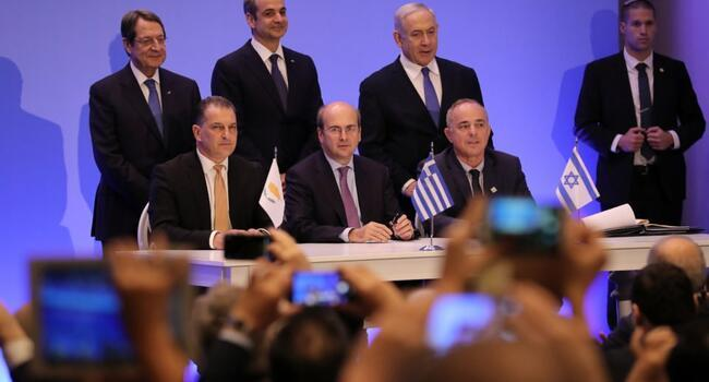 Greece, Israel, Greek Cyprus sign EastMed project