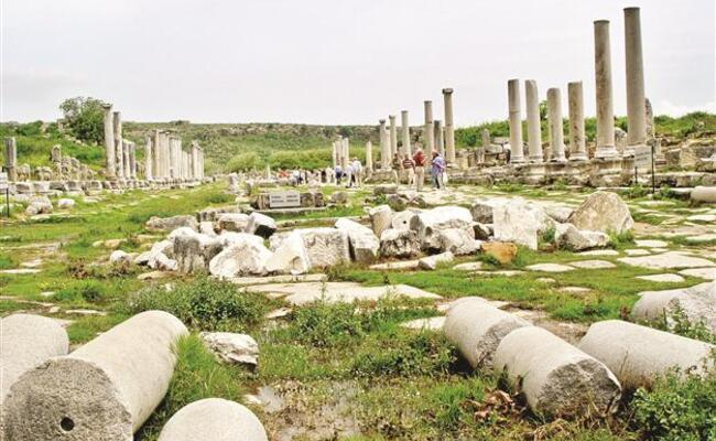 Perge ready to open for visitors