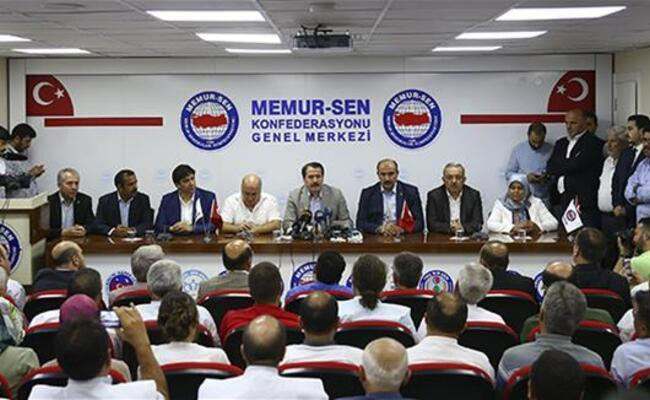 Gov't, unions agree over salary rise for Turkish civil