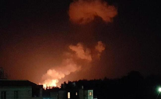 Fire causes explosions in military zone in Turkish Cyprus