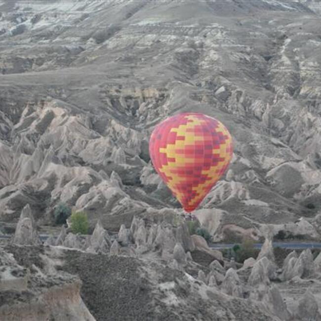 Hot air balloons that look like boobs