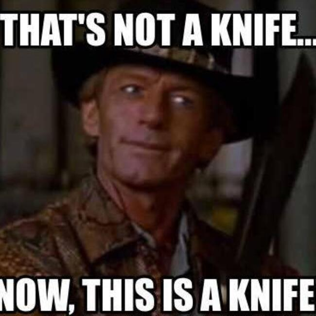 Image result for that's not a knife