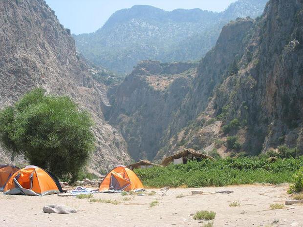 Türkiye'nin en iyi 10 çadır alanı