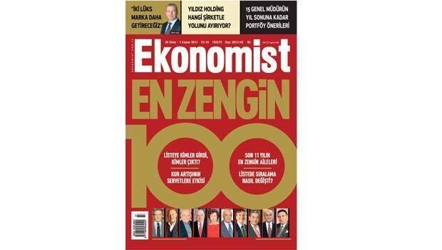Türkiye'nin en zengin 100 insanı