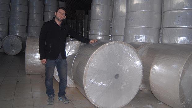 Suriyeden kaçtı fabrika kurdu