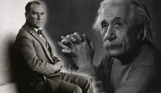 Einsteindan Atatürke dramatik mektup