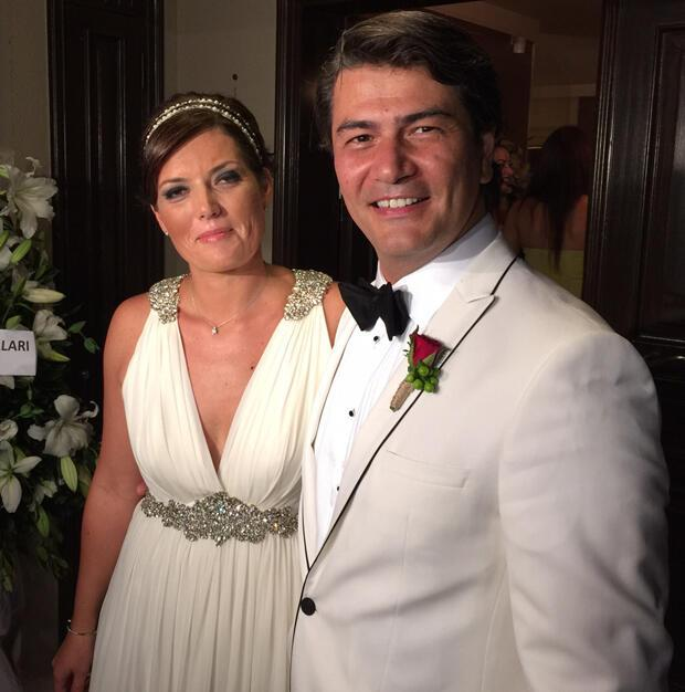 Vatan Şaşmaz Yasemin Adalı evlendi