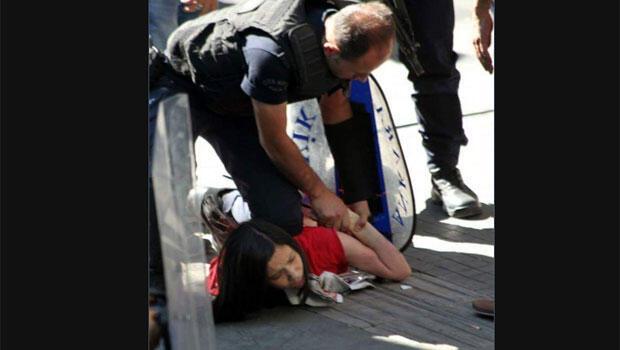Ankara'da liselilere yaka paça gözaltı