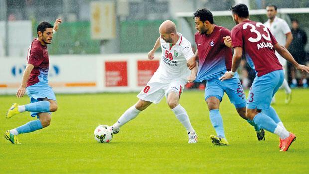 Trabzon ilk maçta Halilhodzic'i çıldırttı