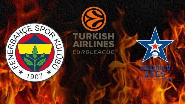 Fenerbahçe ve Anadolu Efes 'Devler Ligi'nde