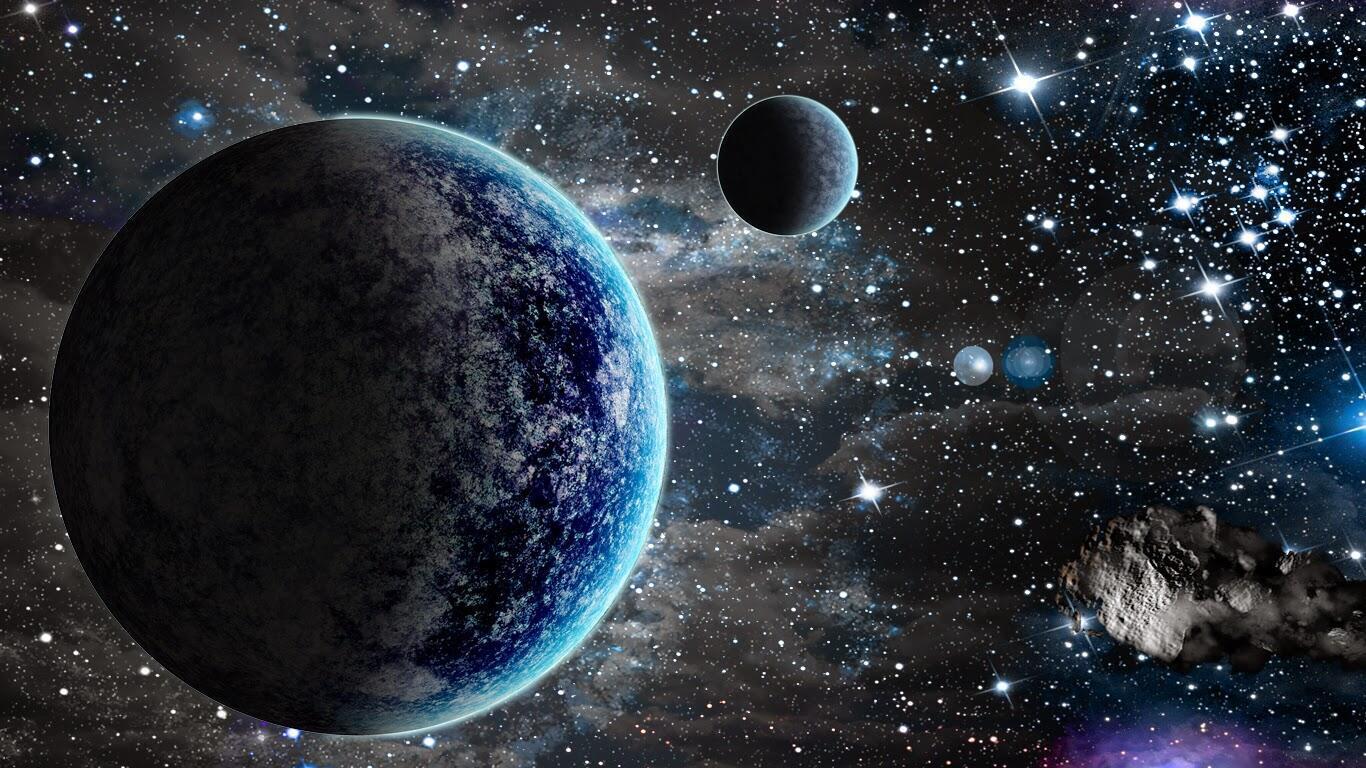 Galaksilerin arasındaki boşlukta ne var?
