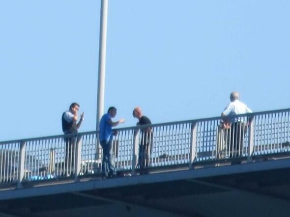 Boğaziçi Köprüsü'ndeki intihar girişiminde bulunan albay serbest