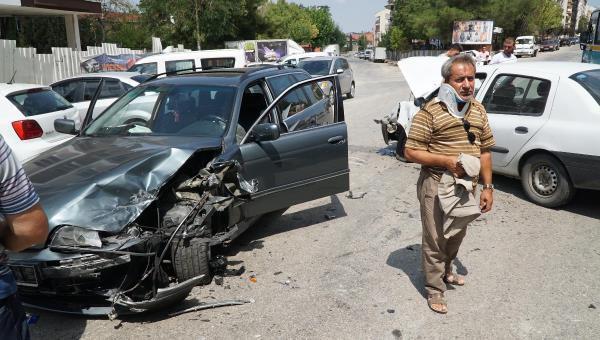 Aşağı Zaferiye Mahallesi'nde kaza