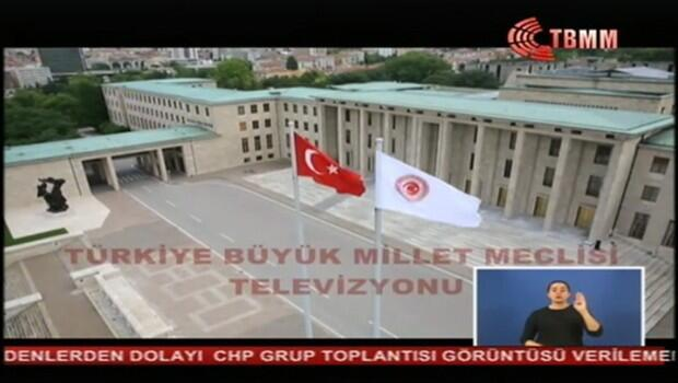 TBMM TV yayınının kesilmesiyle ilgili açıklama geldi