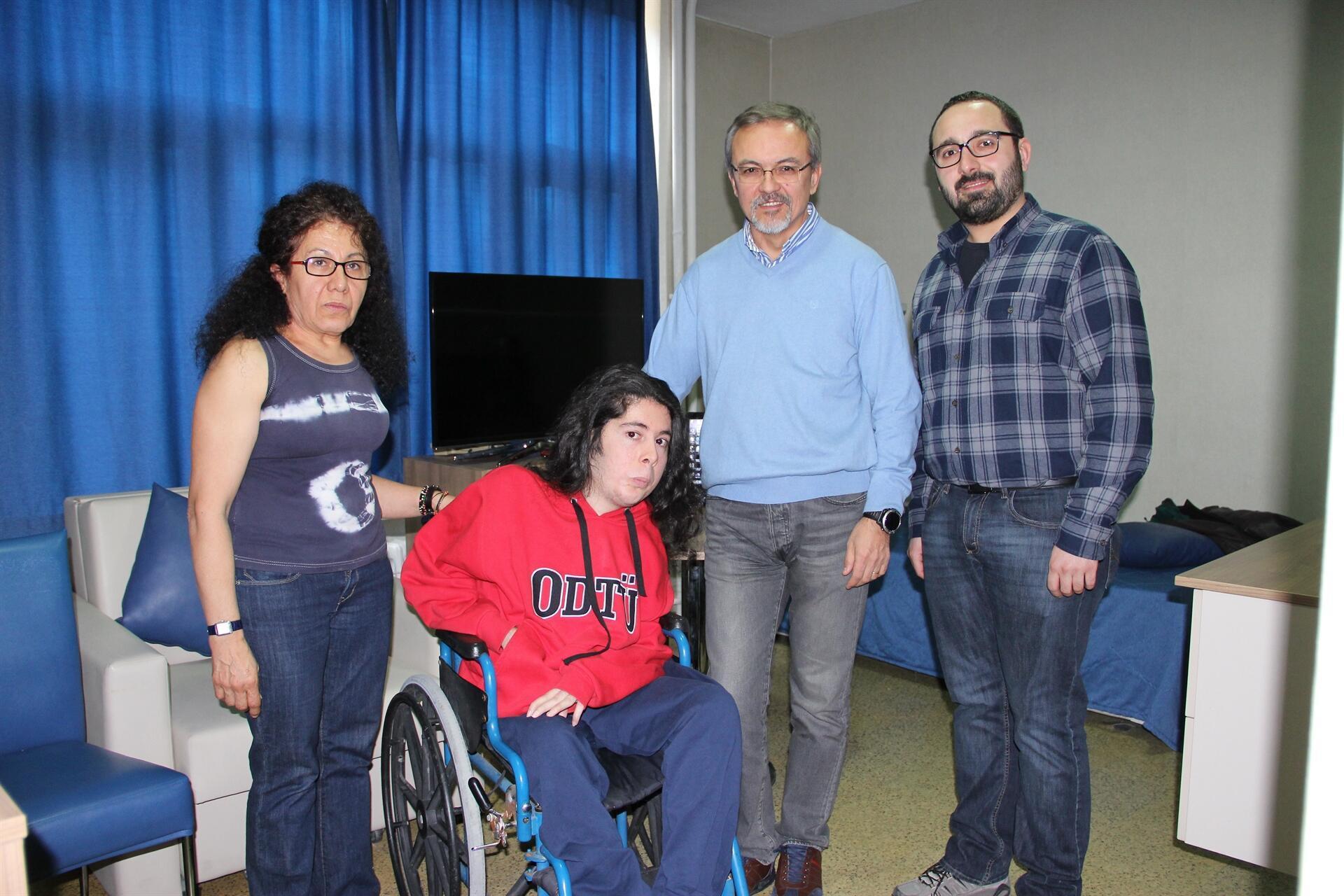 Türkiye'nin Hawkingi ODTÜ'de