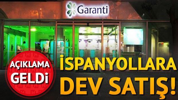 Son Dakika Haberi: Garanti'nin yüzde 9.95'lik hissesi satıldı