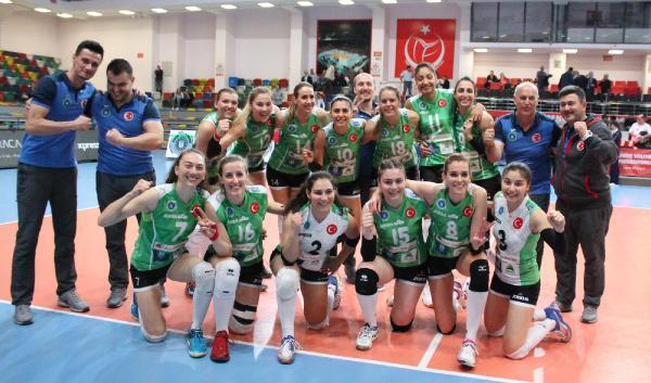 Bursa Büyükşehir Belediyespor-Naturhouse Ciudad de Logrono: 3-0 - Hürriyet