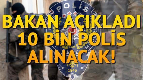 Polis alımı konusunda heyecanlandıran açıklama!