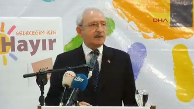 Kılıçdaroğlu: Meclis'in feshi yok diyorlar ya...