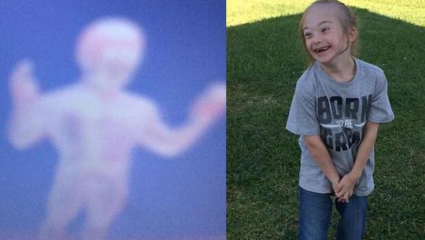 Down sendromlu oğlunun çektiği fotoğrafı görünce şoke oldu