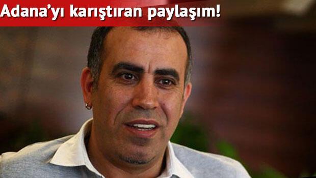 Haluk Levent'ten Adana'yı karıştıran paylaşım