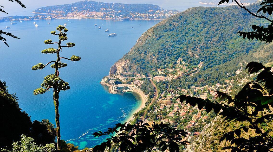 Akdeniz'in kıyısında masal köyü