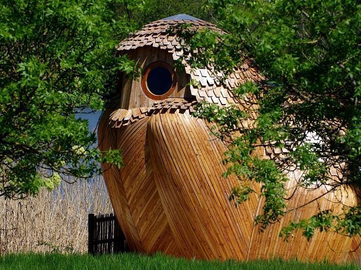 Doğa yürüyüşünü destekleyen baykuş evler