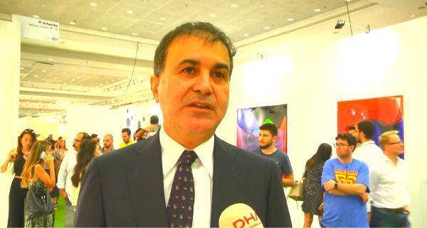 AB Bakanı Ömer Çelik: Contemporary, Türkiye'nin tanıtımı açısından çok önemli''