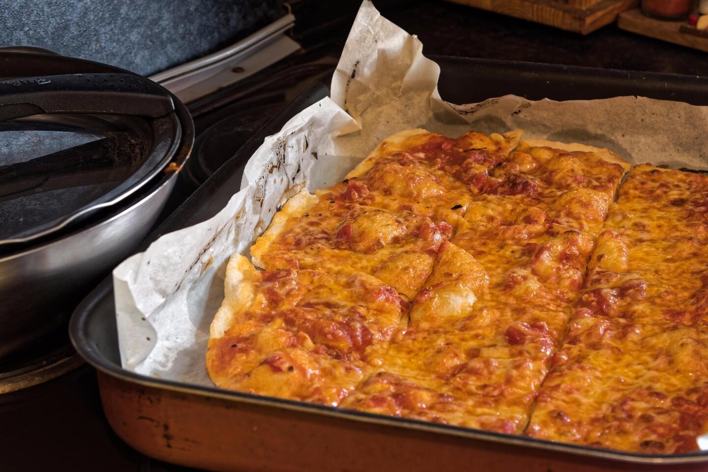 Ev Yapımı Pizza Videosu