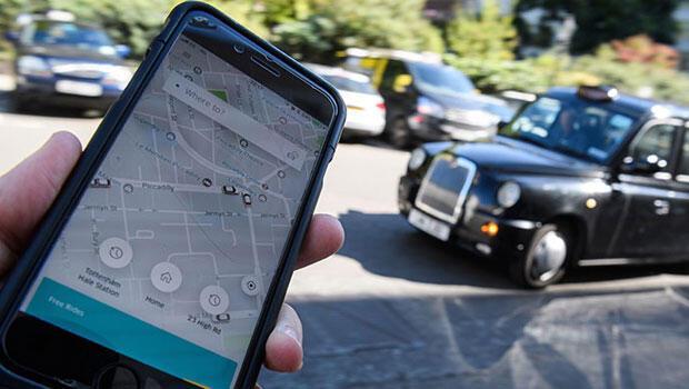 Londra da Uber'e destek kampanyası 400 bine ulaştı