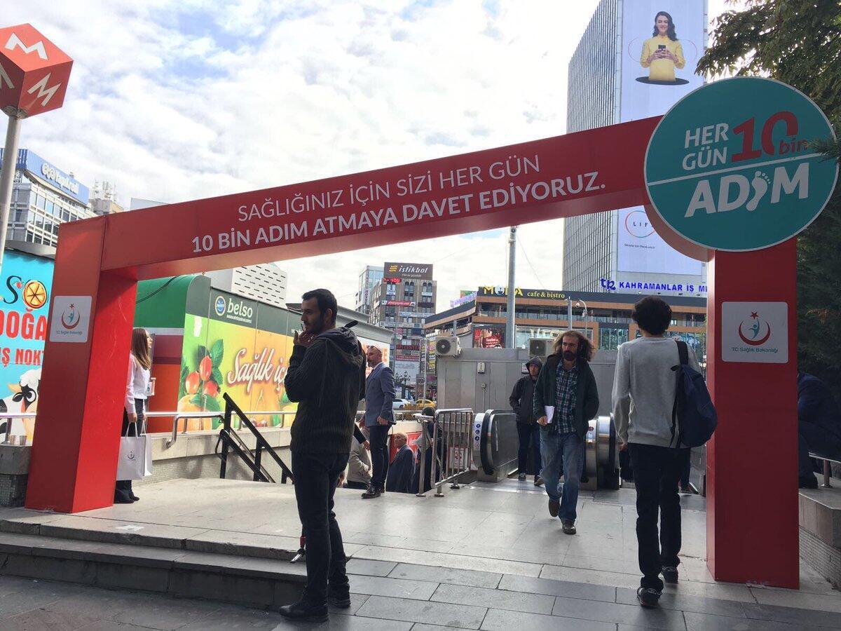 Ankara Haberleri: Kütüphane istasyonu yazı tahtasına döndü 44