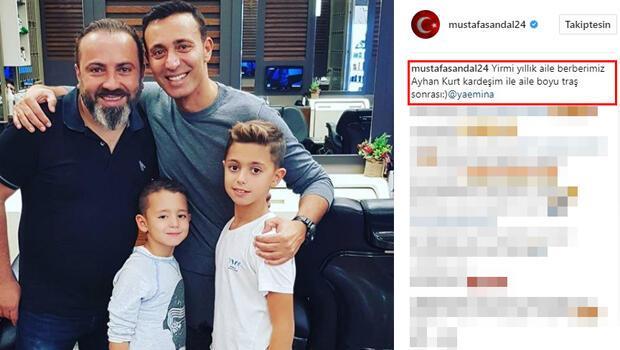 Mustafa Sandal'dan beklenen açıklama