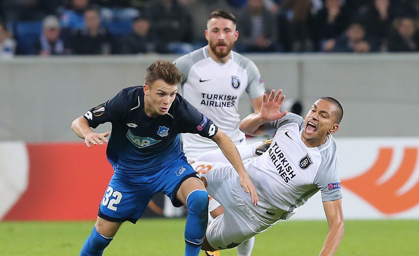 Başakşehir Hoffenheim'a boyun eğdi İşte maçın özeti ve golleri
