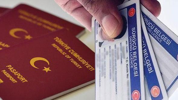 Pasaport ve Ehliyet İşlemleri ilgili duyuru ile ilgili görsel sonucu