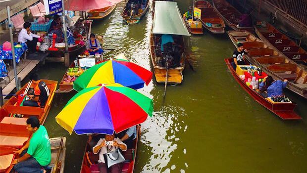 Floating Market / Yüzen Pazar