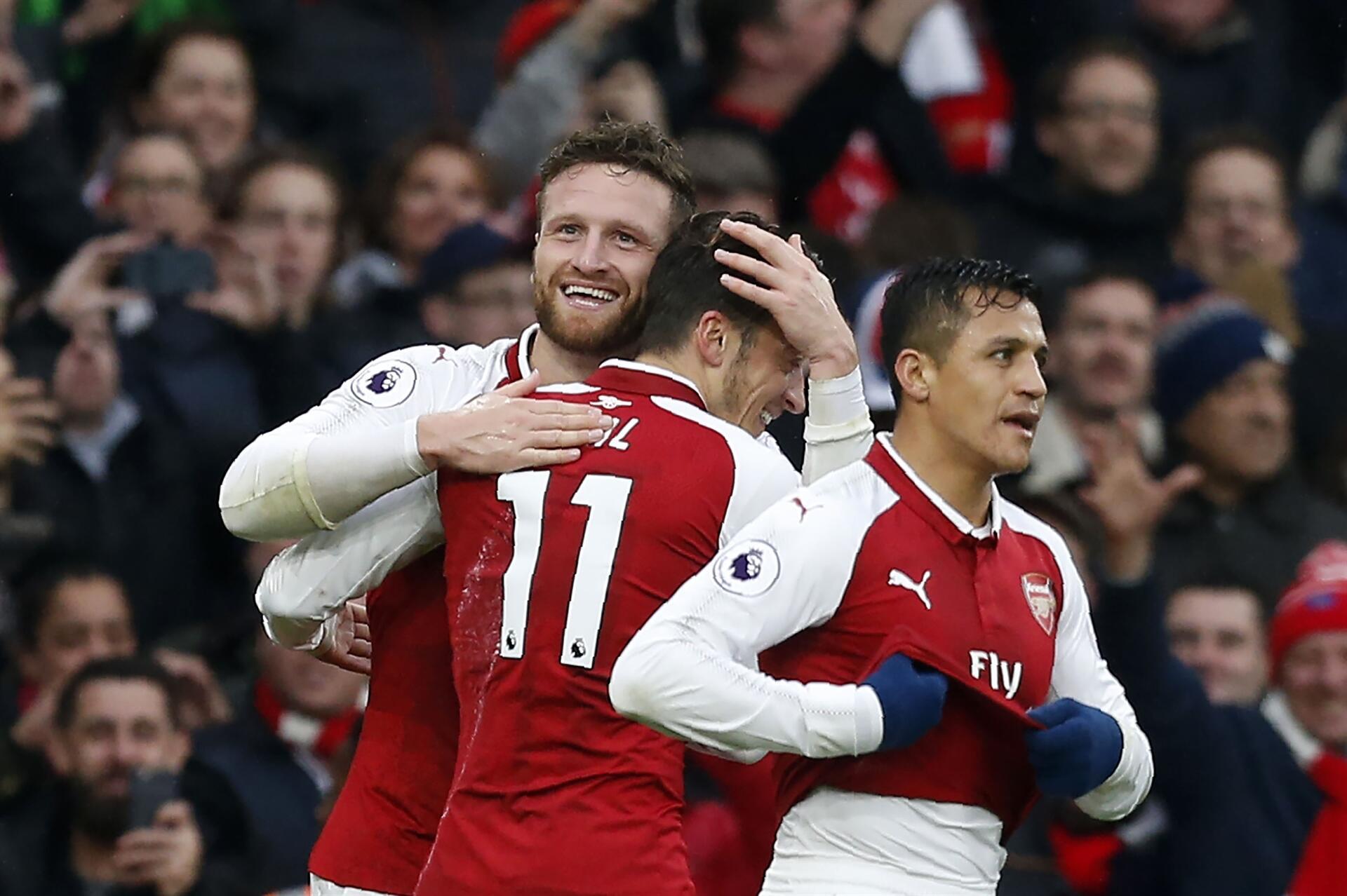 Londra derbisinde Arsenal zaferi