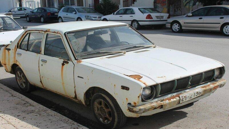 Park ettiği arabasını 20 yıl sonra buldu